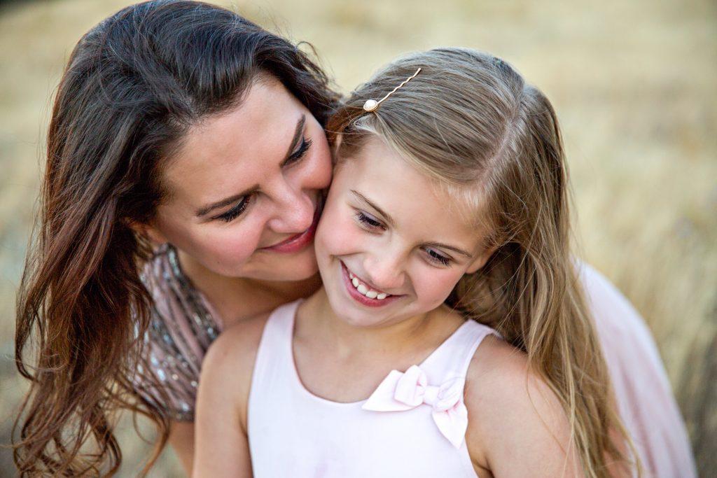 žena s dcerou