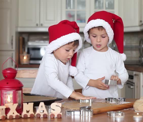 Vánoční přípravy s dětmi 3