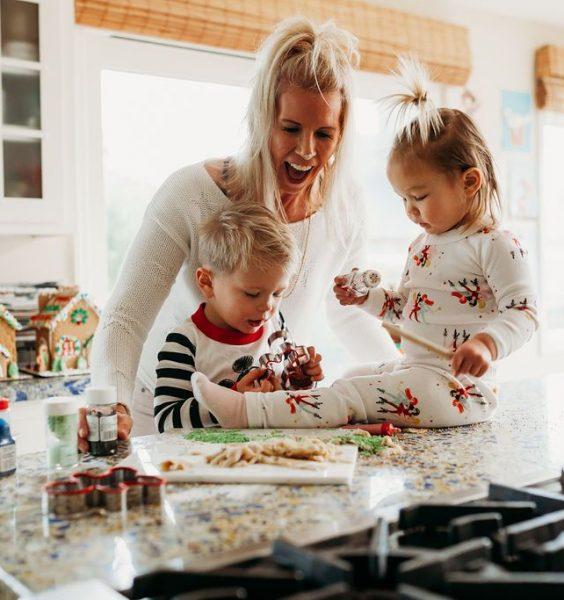 Vánoční přípravy s dětmi