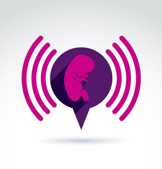 Má hluk vliv na děťátko v maminčině bříšku? Znázornění dopadu hluku na lidský plod