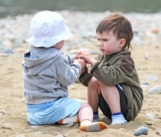 Agresivní malé děti