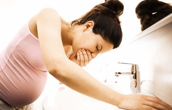 Těhotenská nevolnost, častý a obvyklý jev 2