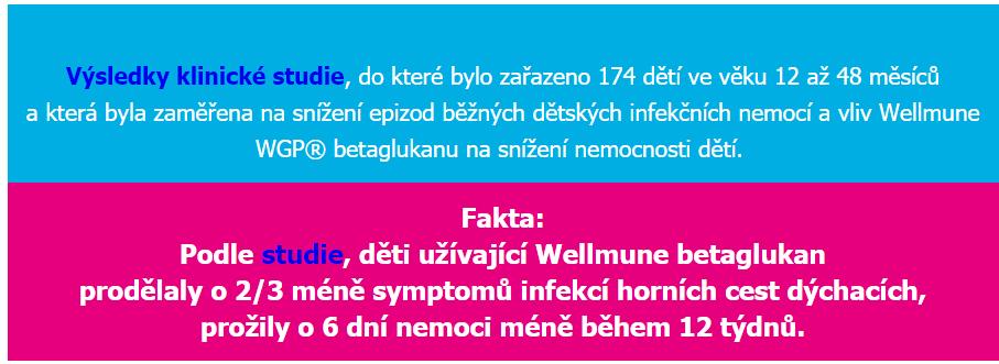 klinická studie immunotrofina