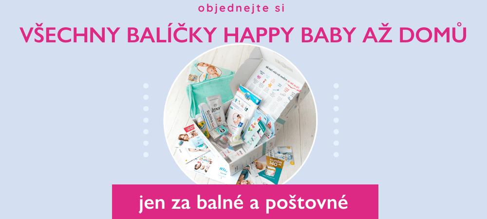 Balíčky Happy Baby