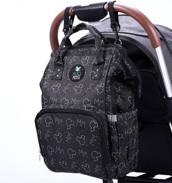 mamísek batoh na kočárku