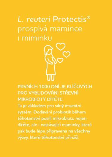 Probiotika pro prvních 1000 dní plakát BioGaia