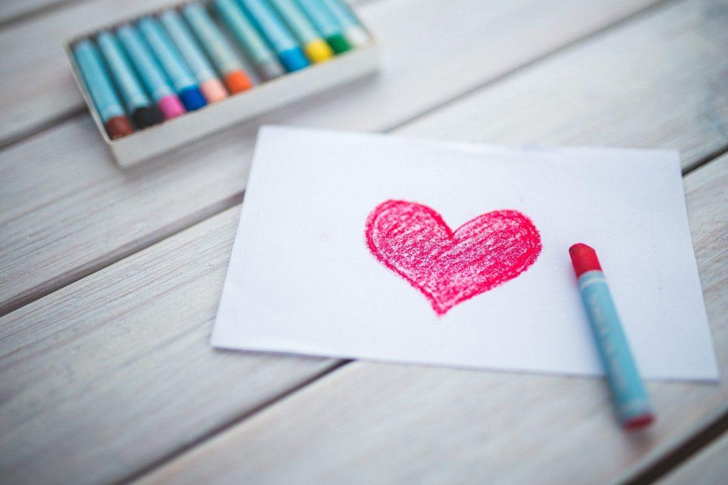 Valentýnské tvoření s dětmi 1