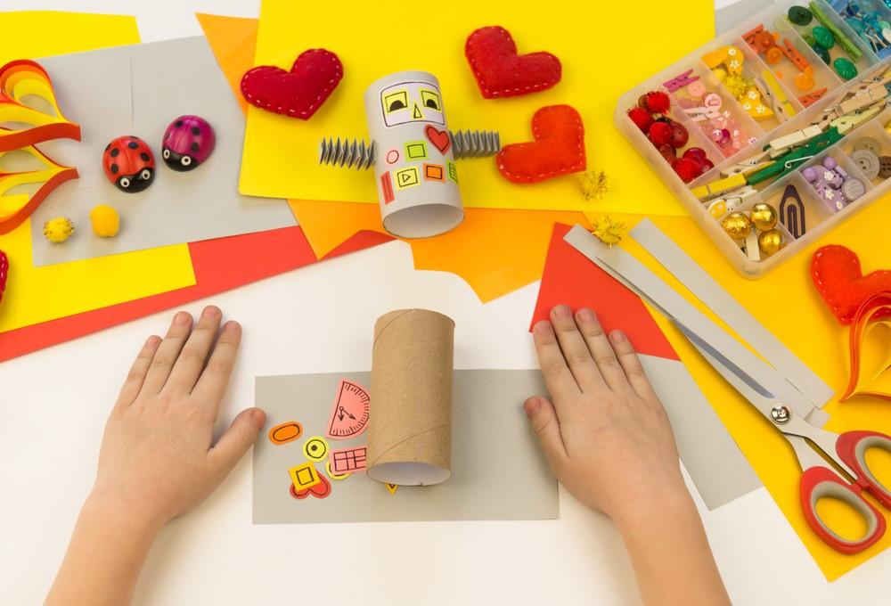 Valentýnské tvoření s dětmi 4