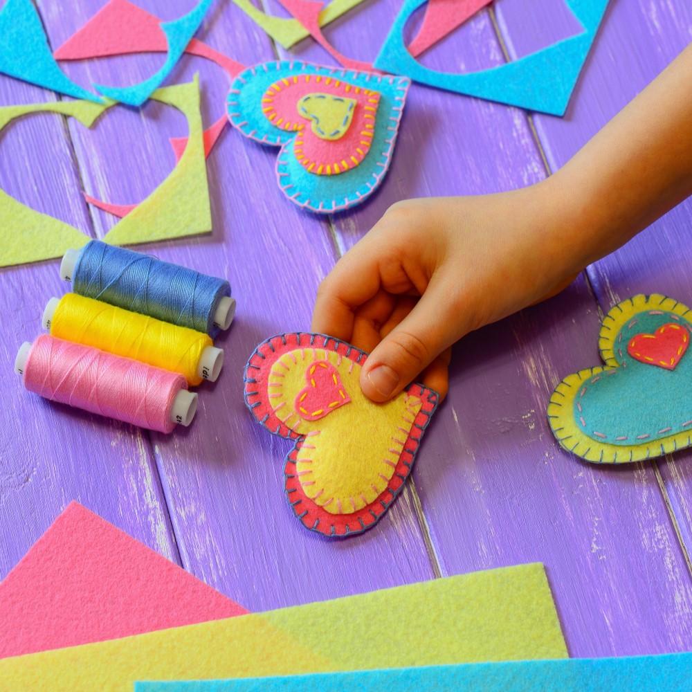 Valentýnské tvoření s dětmi 6