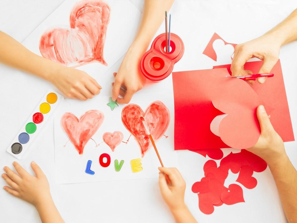 Valentýnské tvoření s dětmi 5