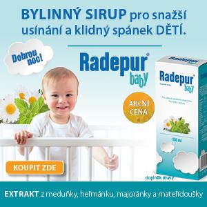 Bylinný sirup Radepub baby