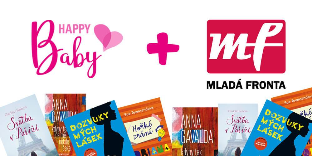 Knihy Mladé fronty pomáhají s Happy Baby 1