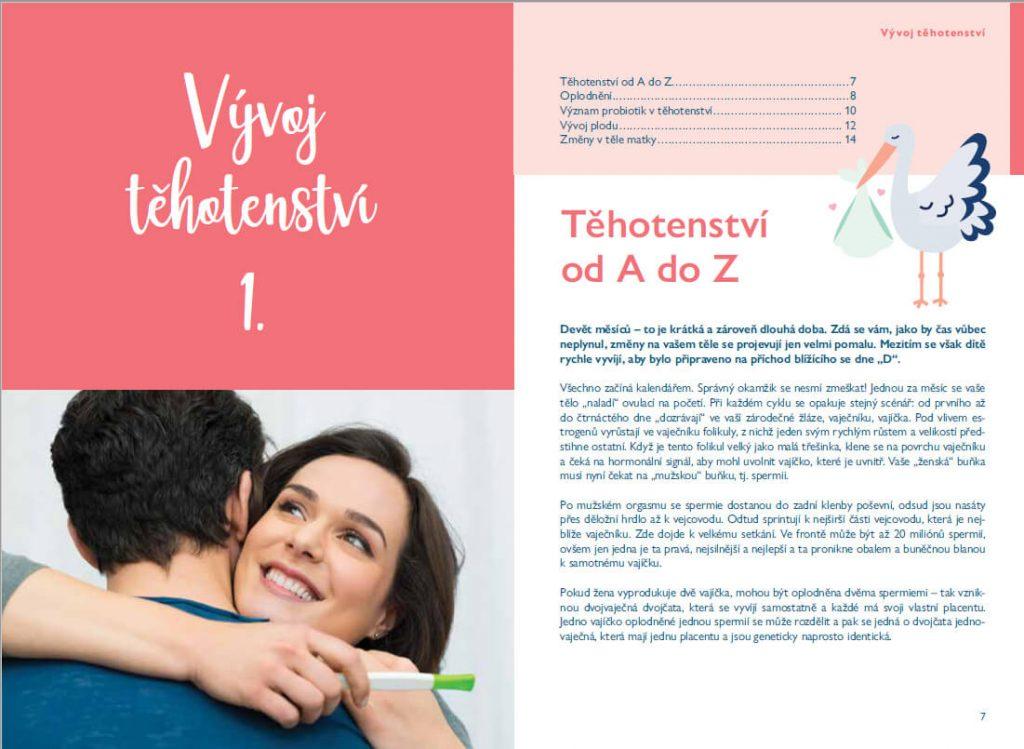 Publikace Happy Baby - Můj průvodce těhotenstvím 4