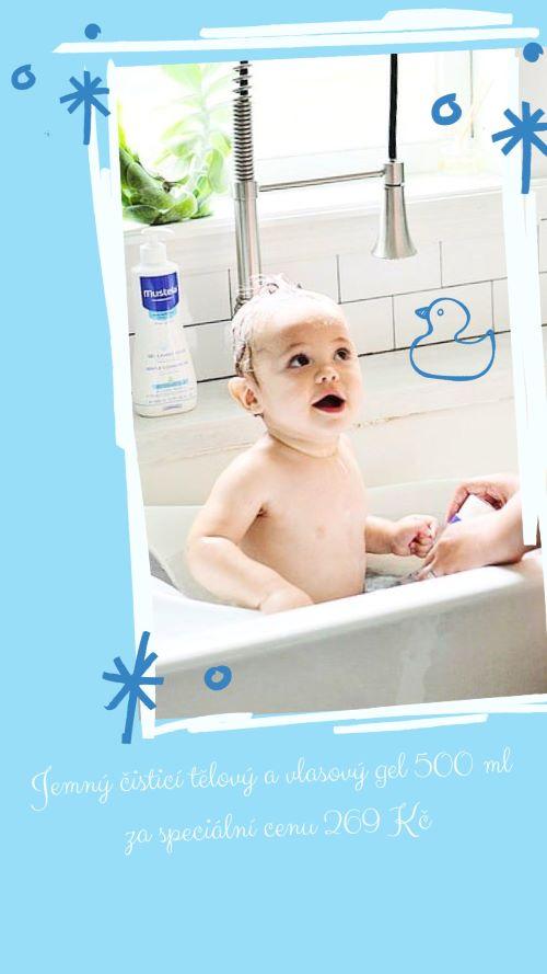 Kosmetika Mustela pravidelně plní balíčky Happy Baby 3