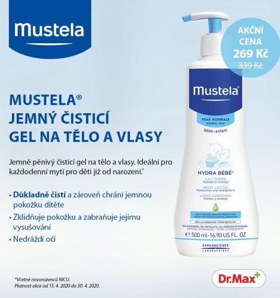 Kosmetika Mustela pravidelně plní balíčky Happy Baby 4