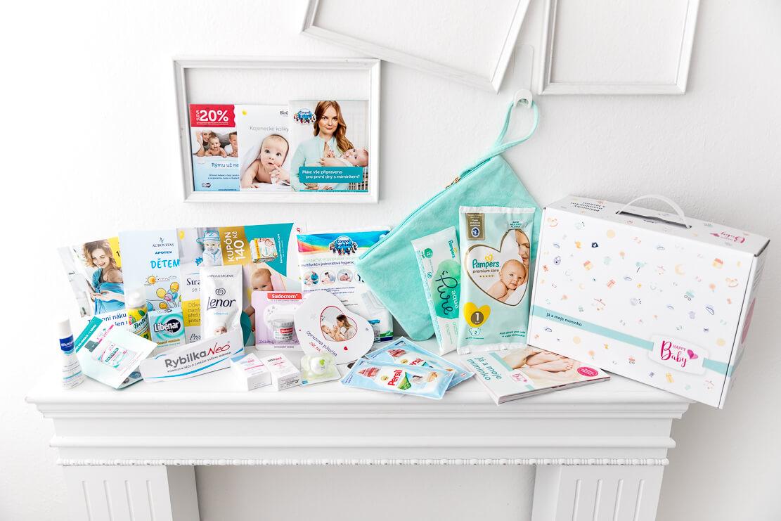Vzorky v balíčku Happy Baby - Já a moje miminko 2