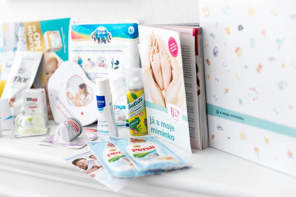 Vzorky v balíčku Happy Baby - Já a moje miminko 1