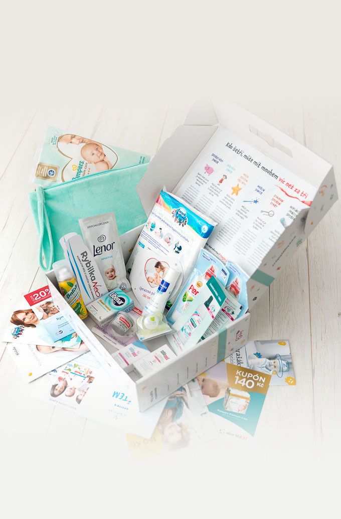 Happy Baby - balíček v porodnici