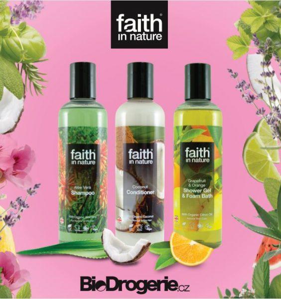 BioDrogerie potěší sestřičky produkty Faith In Nature 2