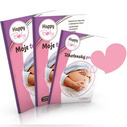Těhotenskou publikaci a těhotenské desky ve starém designu