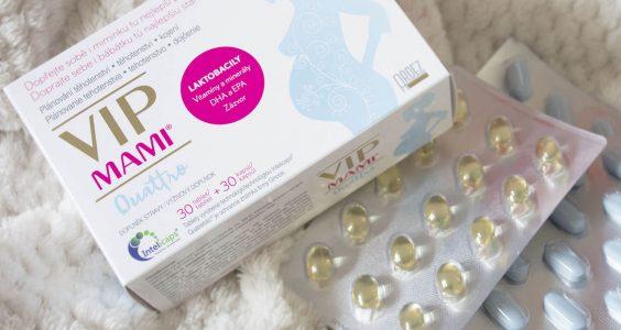 VIP MAMI - vitamíny pro těhotné