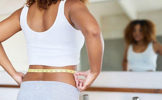 Hlídání váhy u ženy