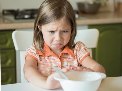 Jak naučit děti správně jíst