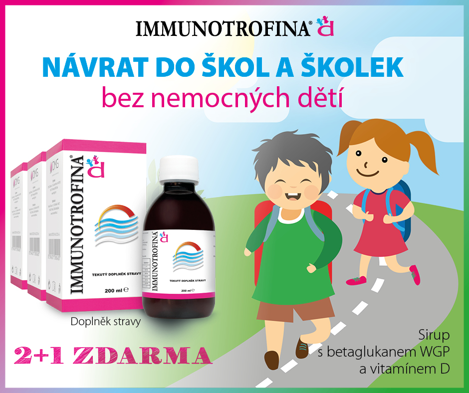 Immunotrofina 2+1 zdarma