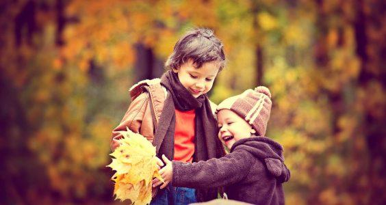 podzim, imunita, děti