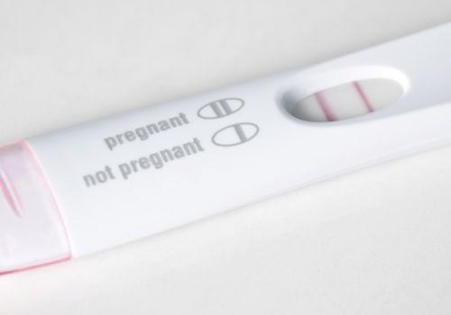 Pozitivní těhotenský test