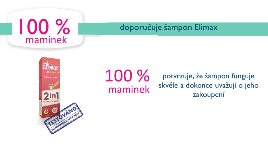 Výsledky testování Elimax