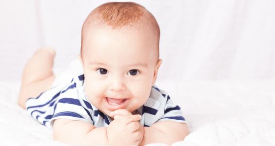 miminko - první zoubky