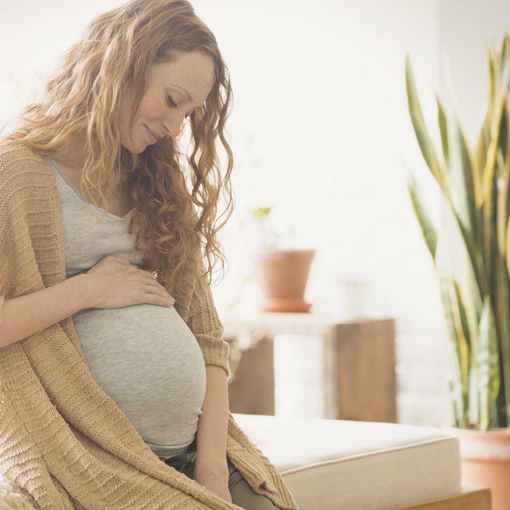 Preeklampsie u těhotné ženy