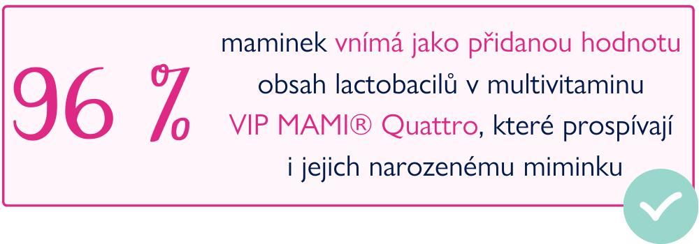 VIP MAMI Quattro Happy Baby ambasadorky