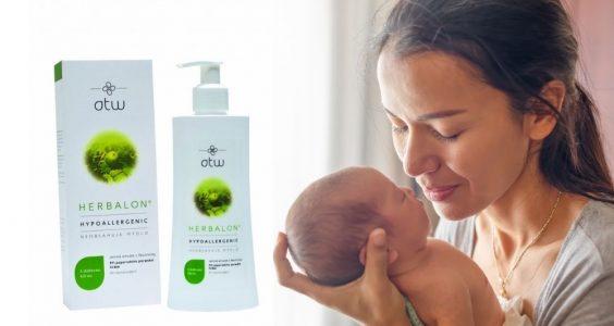 Herbalon intimní mycí gel Happy Baby ambasadorky