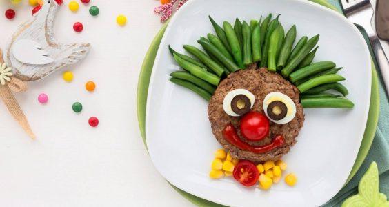 Hamburger pro děti