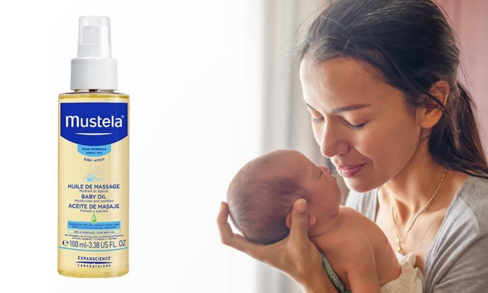 Mustela - masážní olej