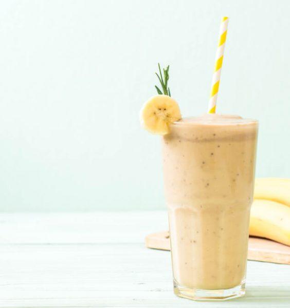 banánový nápoj