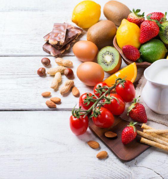 potravinová alergie - možné alergeny