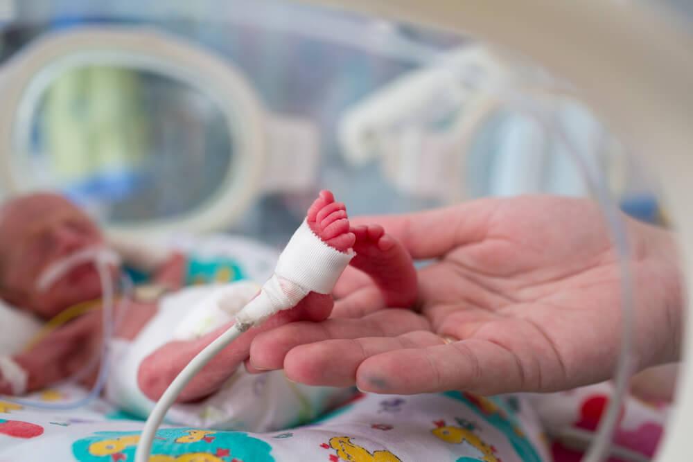 předčasně narozených