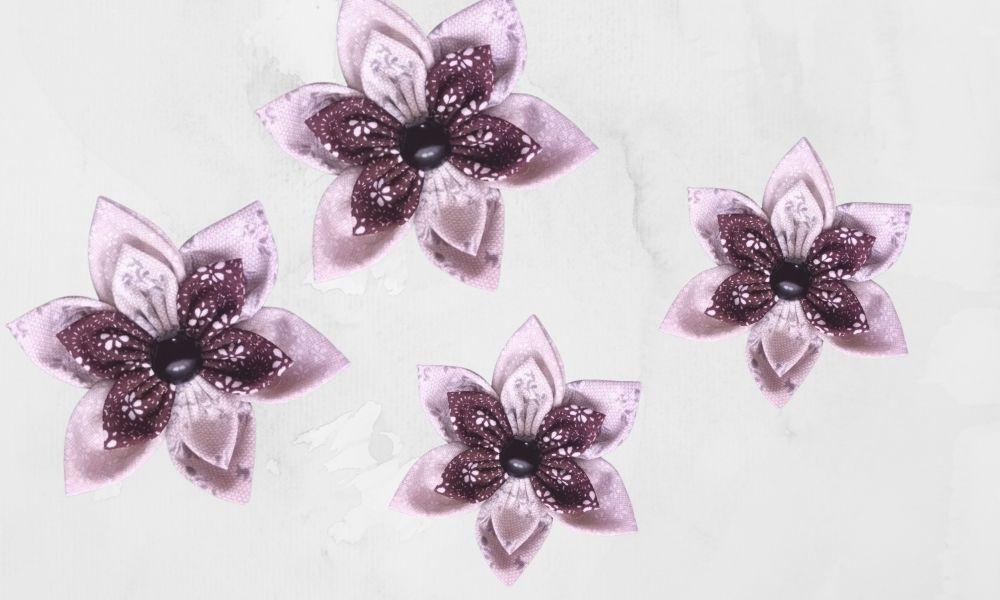 látkové kytičky