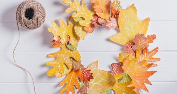 Tvoříme s dětmi podzimní věnec